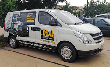 Ideal Driving School van