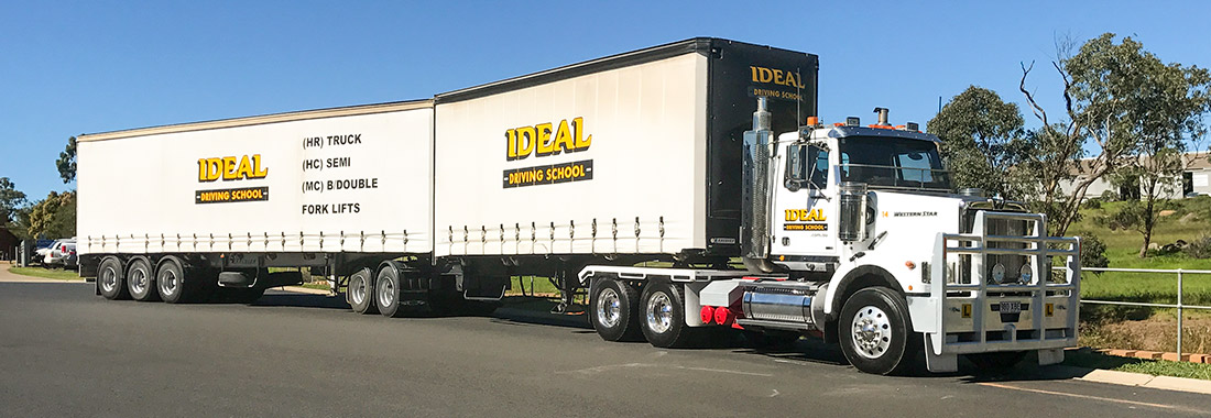 Multi-combination manual gearbox rig for driver training at Ideal Driving School